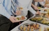 Déjeuner d'un séminaire d'entreprise